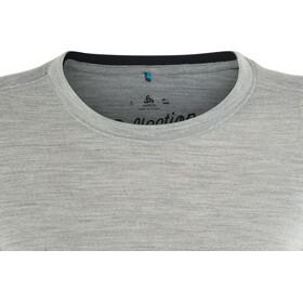 Odlo Natural 100% Merino Warm Crew Neck LS Shirt Women grey melange-black